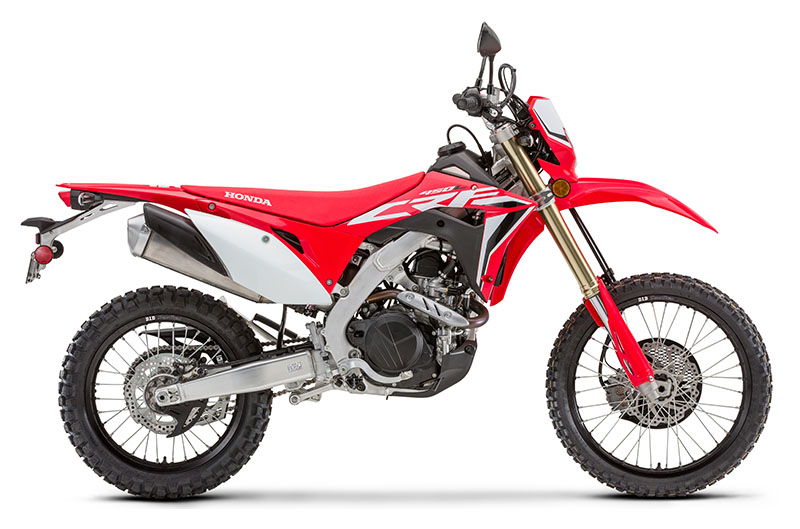 2020 Honda CRF450L in Shelby, North Carolina