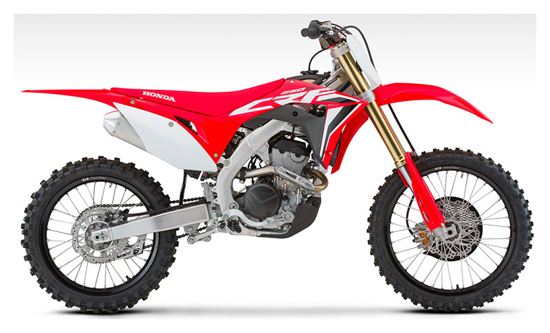 2020 Honda CRF250R in Iowa City, Iowa