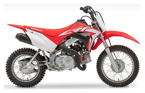 2020 Honda CRF110F in Monroe, Michigan