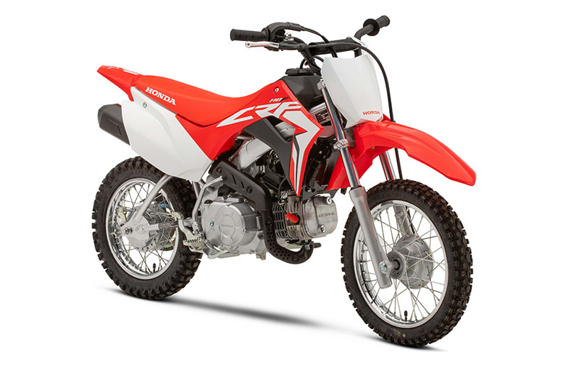 2020 Honda CRF110F in Lincoln, Maine - Photo 3