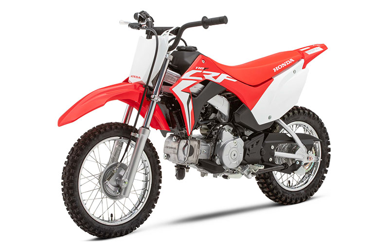 2020 Honda CRF110F in Lincoln, Maine - Photo 4