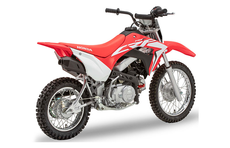 2020 Honda CRF110F in Iowa City, Iowa - Photo 5