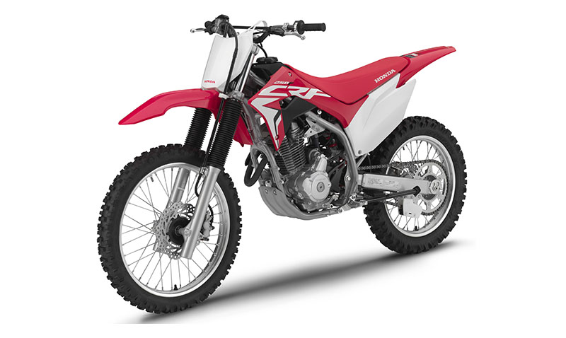 2020 Honda CRF250F in Augusta, Maine - Photo 2