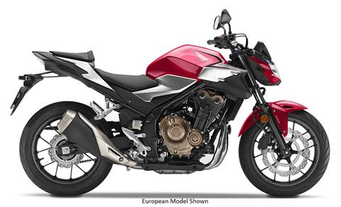 2019 Honda CB500F ABS in Hendersonville, North Carolina