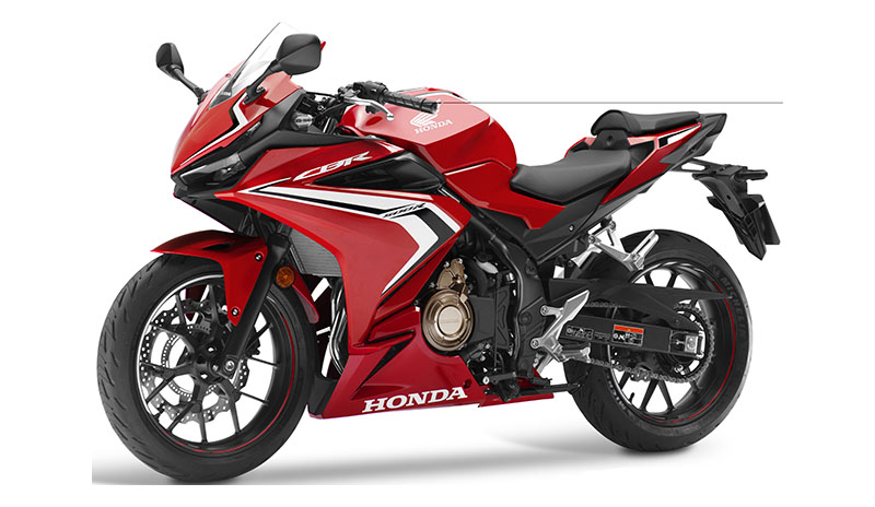 2019 Honda CBR500R ABS in Lewiston, Maine - Photo 4