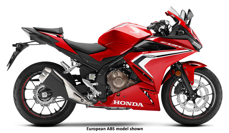 2020 Honda CBR500R in Bennington, Vermont - Photo 1