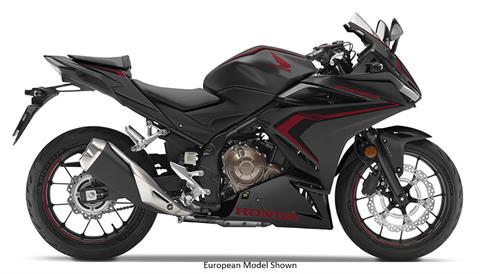2019 Honda CBR500R ABS in Missoula, Montana