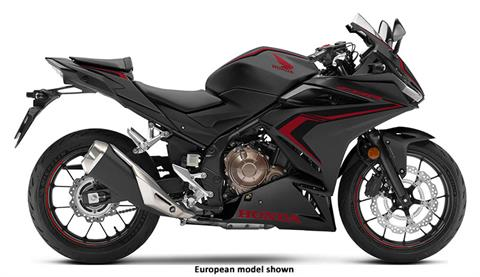 2020 Honda CBR500R ABS in Hollister, California