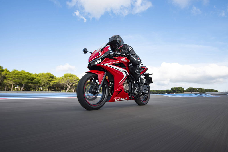 2020 Honda CBR500R ABS in Augusta, Maine - Photo 2