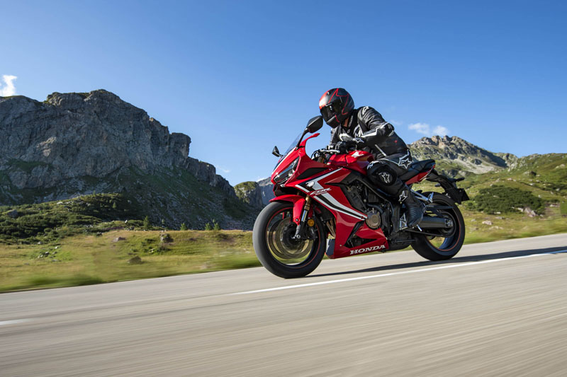 2020 Honda CBR650R ABS in San Francisco, California - Photo 2
