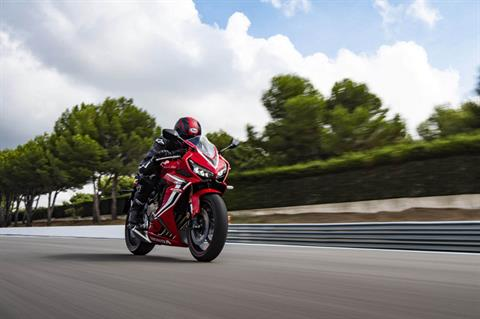 2020 Honda CBR650R ABS in Hendersonville, North Carolina - Photo 5