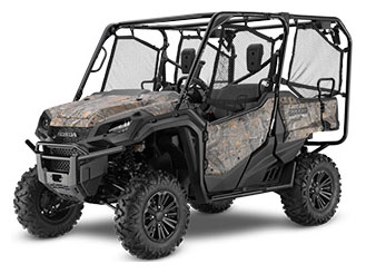 2020 Honda Pioneer 1000-5 Deluxe in Rice Lake, Wisconsin