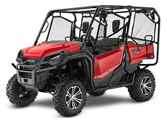 2020 Honda Pioneer 1000-5 Deluxe in Iowa City, Iowa