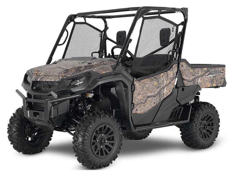 2020 Honda Pioneer 1000 Deluxe in Coeur D Alene, Idaho - Photo 1