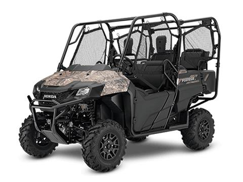 2020 Honda Pioneer 700-4 Deluxe in Monroe, Michigan