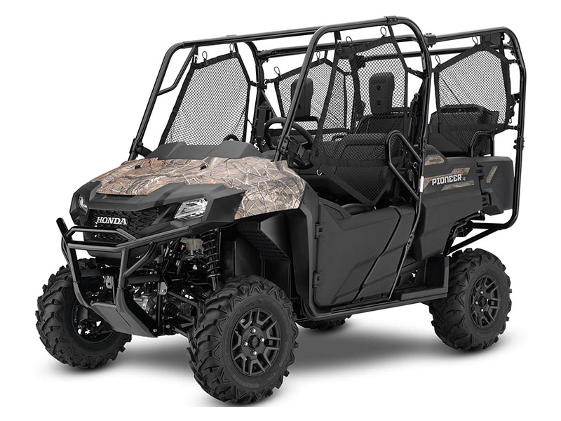 2020 Honda Pioneer 700-4 Deluxe in Harrisburg, Illinois