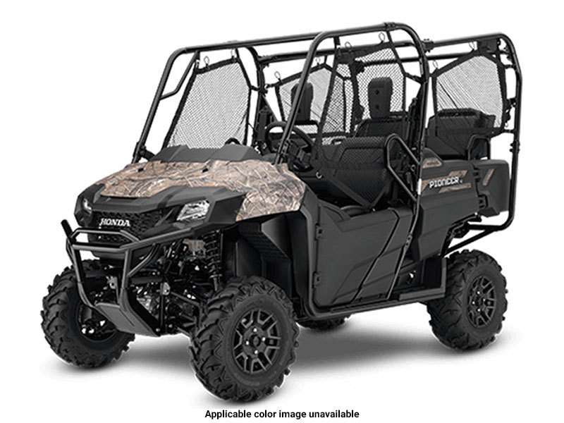 2020 Honda Pioneer 700-4 Deluxe in Dodge City, Kansas