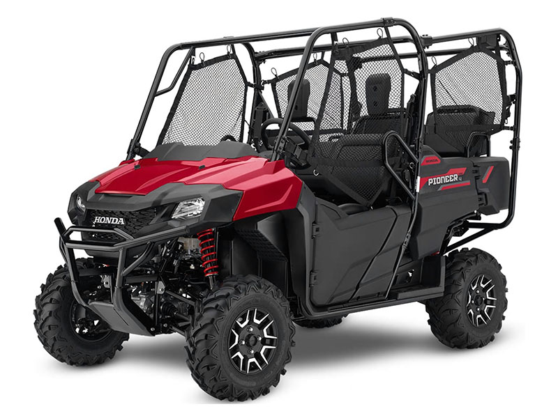 2020 Honda Pioneer 700-4 Deluxe in New Strawn, Kansas - Photo 1