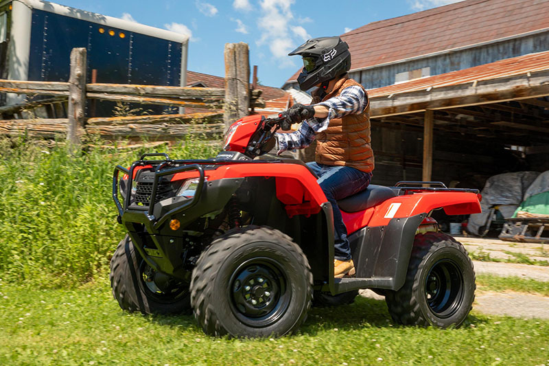 2021 Honda FourTrax Foreman 4x4 in Lewiston, Maine - Photo 6