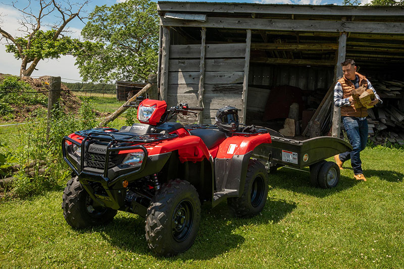 2021 Honda FourTrax Foreman 4x4 ES EPS in Lincoln, Maine - Photo 2