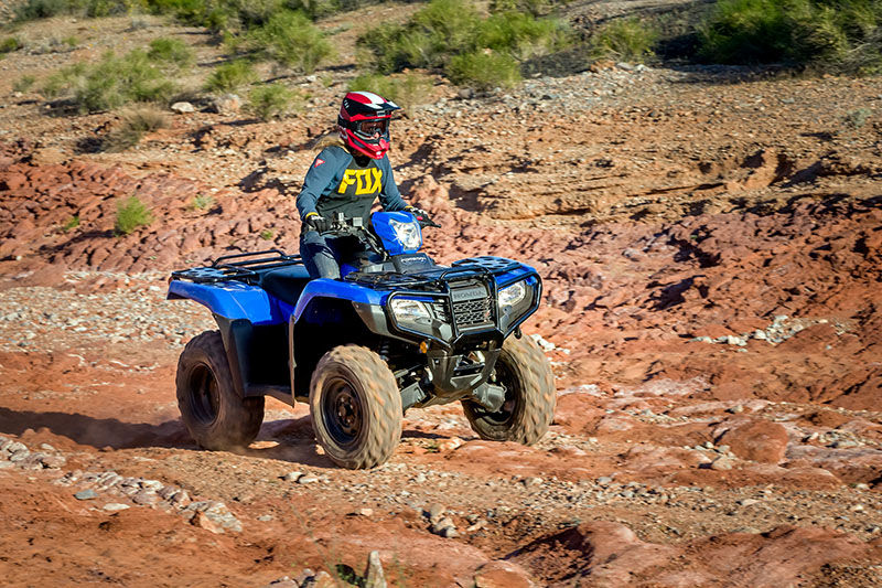 2021 Honda FourTrax Foreman 4x4 ES EPS in Lewiston, Maine - Photo 4