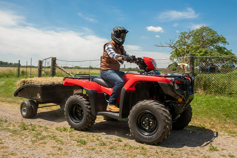 2021 Honda FourTrax Foreman 4x4 ES EPS in Lewiston, Maine - Photo 5