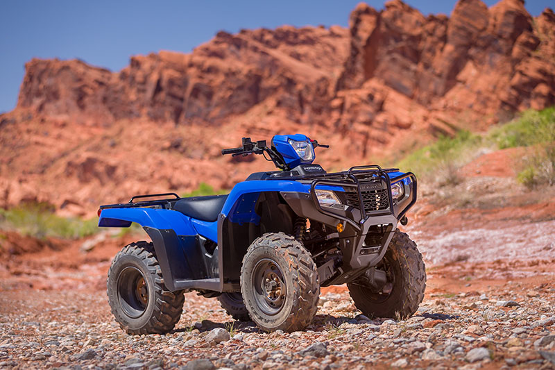 2021 Honda FourTrax Foreman 4x4 ES EPS in Lewiston, Maine - Photo 8