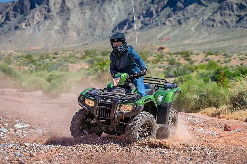 2021 Honda FourTrax Foreman Rubicon 4x4 Automatic DCT in Fremont, California - Photo 5