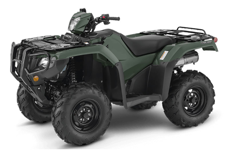 2021 Honda FourTrax Foreman Rubicon 4x4 Automatic DCT EPS in Stillwater, Oklahoma