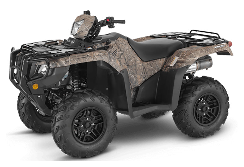 2021 Honda FourTrax Foreman Rubicon 4x4 Automatic DCT EPS Deluxe in Hendersonville, North Carolina
