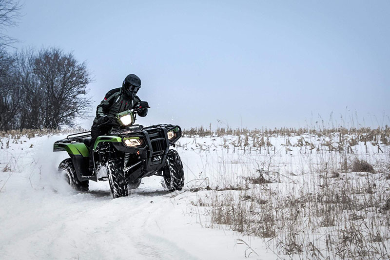 2021 Honda FourTrax Foreman Rubicon 4x4 Automatic DCT EPS Deluxe in Lewiston, Maine - Photo 11