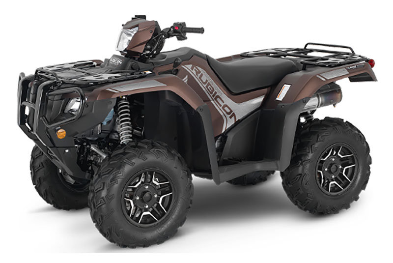 2021 Honda FourTrax Foreman Rubicon 4x4 Automatic DCT EPS Deluxe in Palatine Bridge, New York - Photo 1