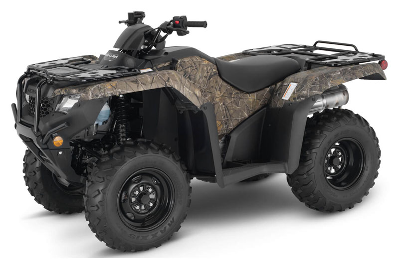2021 Honda FourTrax Rancher 4x4 in Fremont, California - Photo 1