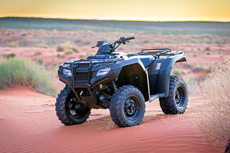 2021 Honda FourTrax Rancher 4x4 Automatic DCT EPS in Grass Valley, California - Photo 3