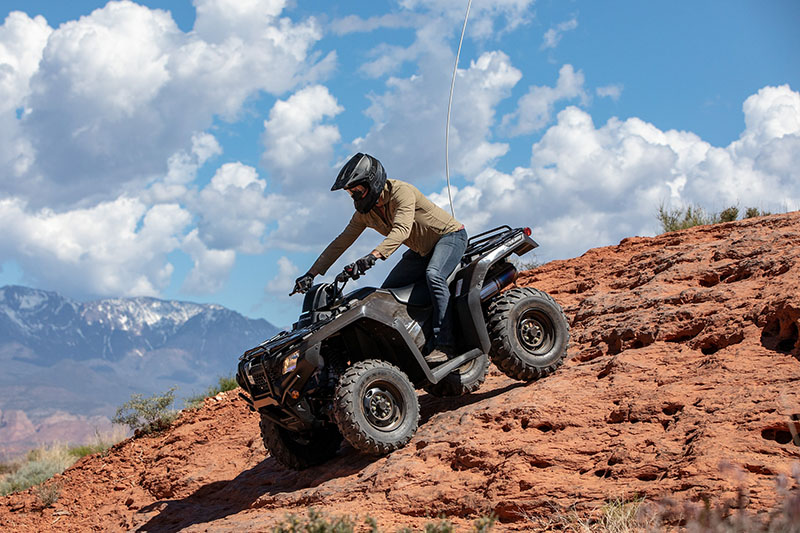 2021 Honda FourTrax Rancher 4x4 Automatic DCT EPS in Jamestown, New York - Photo 5