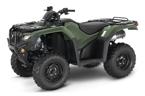 2021 Honda FourTrax Rancher 4x4 Automatic DCT IRS in Lewiston, Maine