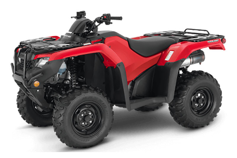 2021 Honda FourTrax Rancher 4x4 Automatic DCT IRS in Hollister, California - Photo 1