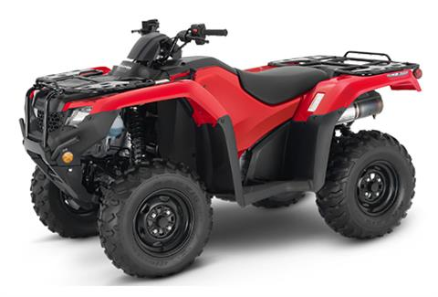 2021 Honda FourTrax Rancher 4x4 Automatic DCT IRS EPS in Newport, Maine