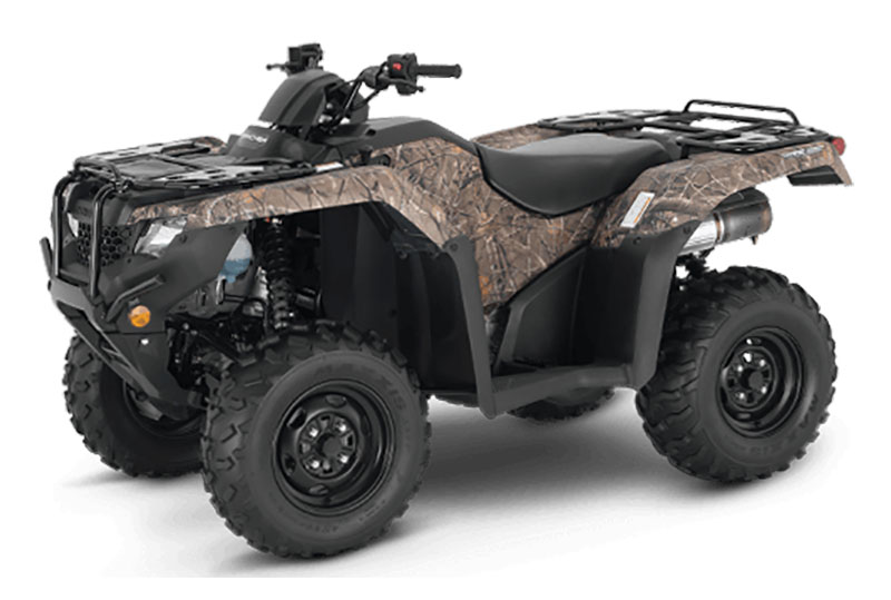 2021 Honda FourTrax Rancher 4x4 Automatic DCT IRS EPS in Madera, California - Photo 1