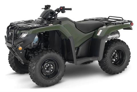 2021 Honda FourTrax Rancher 4x4 EPS in Lewiston, Maine - Photo 1
