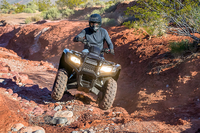 2021 Honda FourTrax Rancher 4x4 EPS in Fremont, California - Photo 2