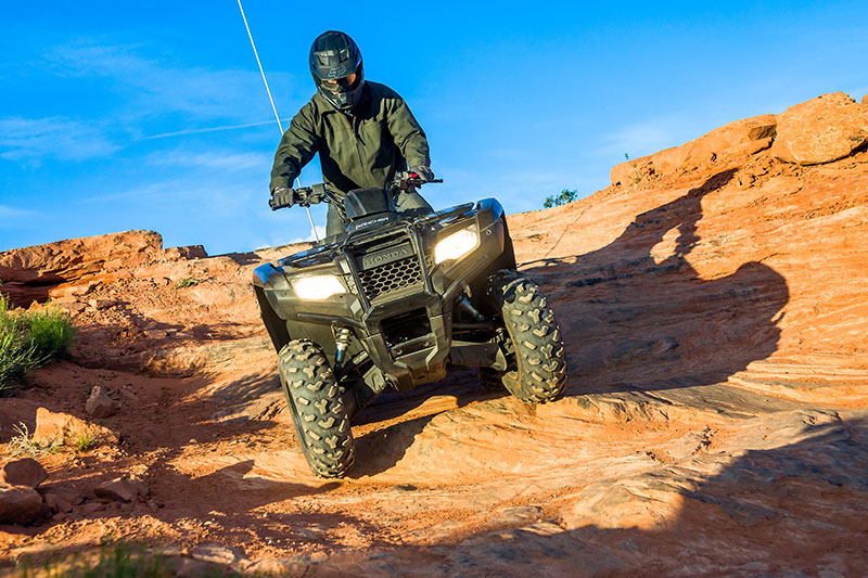 2021 Honda FourTrax Rancher 4x4 EPS in Huntington Beach, California - Photo 4