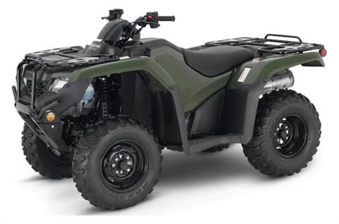 2021 Honda FourTrax Rancher 4x4 ES in Moline, Illinois