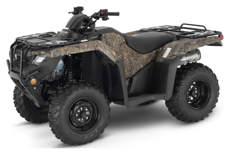 2021 Honda FourTrax Rancher 4x4 ES in Monroe, Michigan - Photo 1