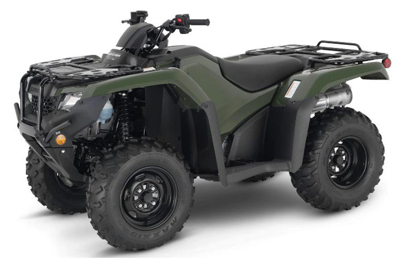 2021 Honda FourTrax Rancher 4x4 ES in Canton, Ohio