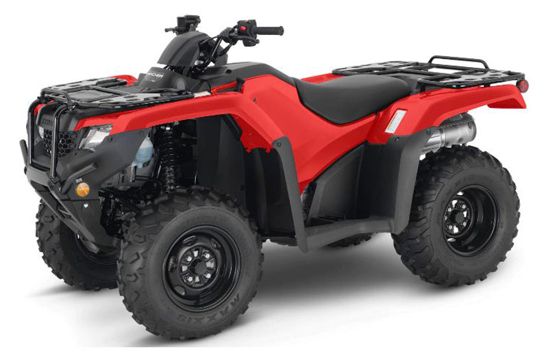 2021 Honda FourTrax Rancher 4x4 ES in Danbury, Connecticut - Photo 1