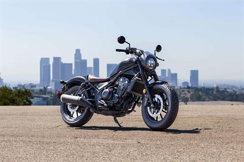 2021 Honda Rebel 500 in San Jose, California - Photo 7