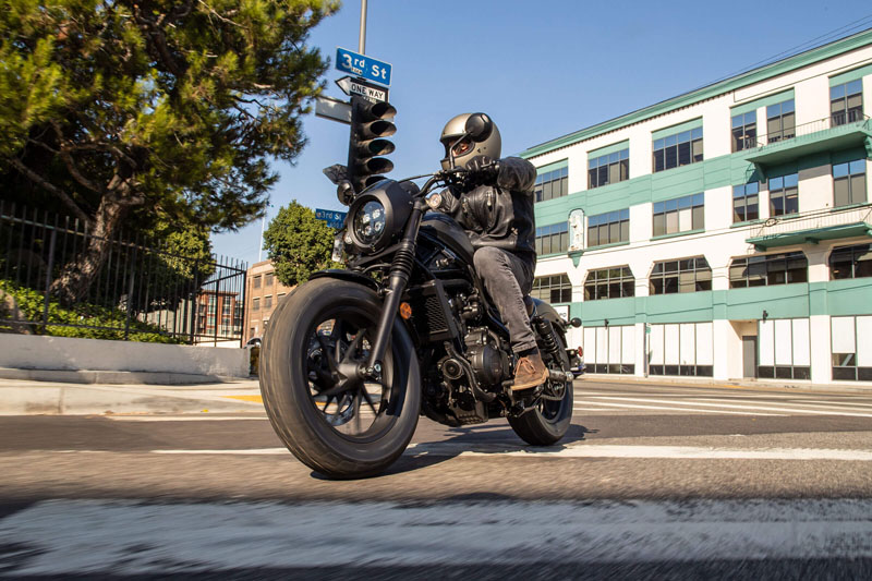 2021 Honda Rebel 500 ABS in San Jose, California - Photo 3