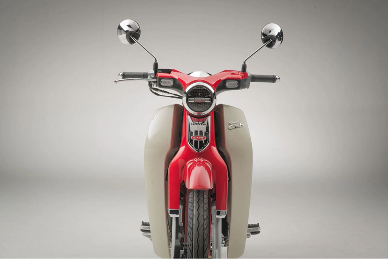 2021 Honda Super Cub C125 ABS in Lewiston, Maine - Photo 5