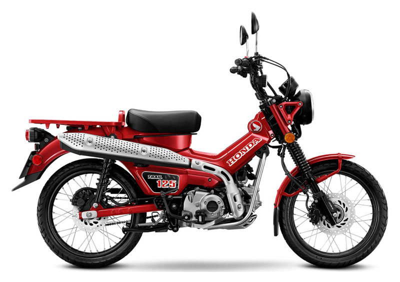 2021 Honda Trail125 ABS in Lewiston, Maine - Photo 1
